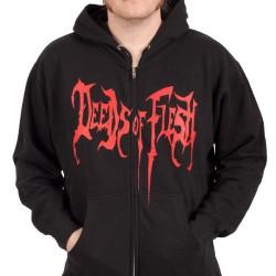 Deeds Of Flesh - Cannibal - Hooded Sweat Shirt Zip (Men)