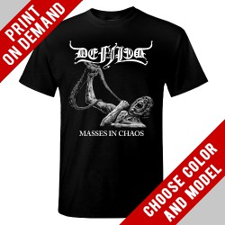Defiled - Masses in Chaos - Print on demand