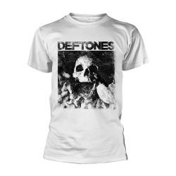 Deftones - Skull (White) - T-shirt (Homme)
