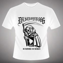 Deströyer 666 - No Remorse No Regrets - T-shirt (Men)
