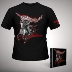 Deströyer 666 - Wildfire - CD + T-shirt bundle (Homme)