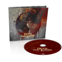 Devil You Know - They Bleed Red - CD DIGIPAK