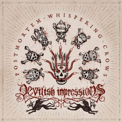 Devilish Impressions - Postmortem Whispering Crows - CD EP DIGIPAK