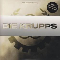 Die Krupps - Too Much History – Vol.1 - CD DIGIPAK