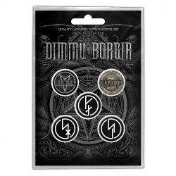 Dimmu Borgir - Eonian - BUTTON BADGE SET