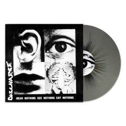 Discharge - Hear Nothing See Nothing Say Nothing - LP COLOURED