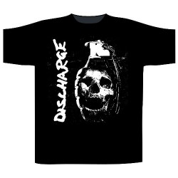 Discharge - Skull Grenade - T-shirt (Men)