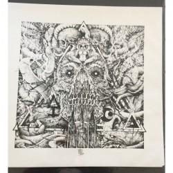 Doom Snake Cult - LSD - Lithograph