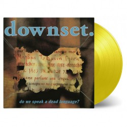 Downset. - Do We Speak A Dead Language? - LP COLOURED
