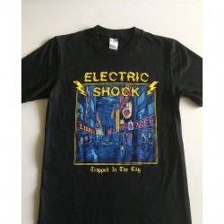 Electric Shock - Trapped In The City - T-shirt (Homme)
