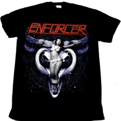 Enforcer - Cow Girl Skull - T-shirt (Men)