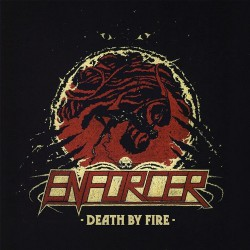 Enforcer - Death By Fire - LP COLOURED