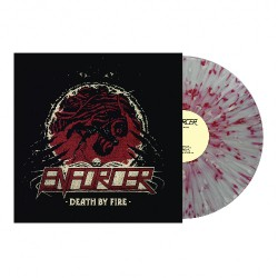 Enforcer - Death By Fire - LP Gatefold Coloured