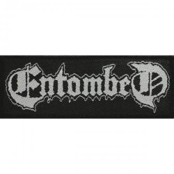 Entombed - Logo - Patch