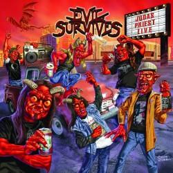 "Evil Survives - Judas Priest Live - 7"" vinyl"
