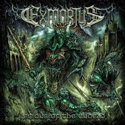 Exmortus - Legions Of The Undead - CD EP DIGIPAK