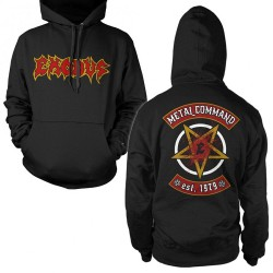 Exodus - Metal Command - Hooded Sweat Shirt (Homme)