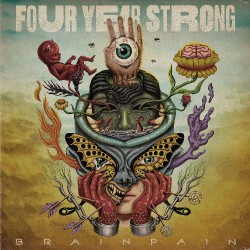 Four Year Strong - Brain Pain - LP Gatefold Coloured