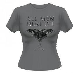 Game Of Thrones - All Men Must Die - T-shirt (Women)