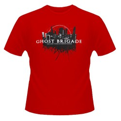 Ghost Brigade - Thick As Blood [Red Shirt] - T-shirt (Femme)