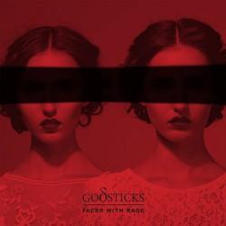 Godsticks - Faced With Rage - CD DIGIPAK