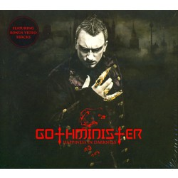 Gothminister - Happiness in Darkness - CD DIGIPAK