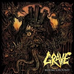 Grave - Burial Ground - CD DIGIPAK