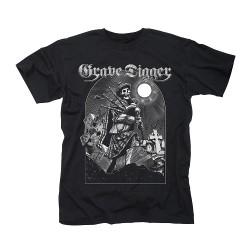Grave Digger - Skeleton Bagpiper - T-shirt (Homme)