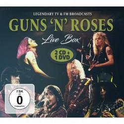 Guns N' Roses - Live Box - 2CD + DVD DIGISLEEVE
