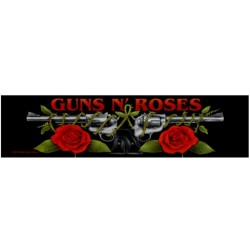 Guns N' Roses - Logo / Roses - Patch/Superstrips