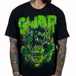 Gwar - Destroyers Black/Green - T-shirt (Homme)
