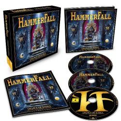 HammerFall - Legacy Of Kings - 20 Year Anniversary Edition - 2CD + DVD BOX