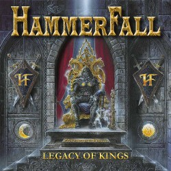 HammerFall - Legacy of Kings - LP Gatefold Coloured
