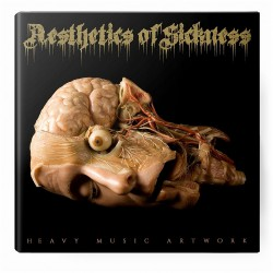 Heavy Music Artwork - Aesthetics Of Sickness - BOOK