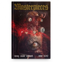 Heavy Music Artwork - Masterpieces - Anno 2019 - BOOK