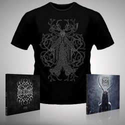 Heilung - Ofnir + Lifa - 2 x CD Digipak + T-shirt bundle (Homme)