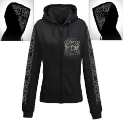 Heilung - Sol Og Mani - Hooded Sweat Shirt Zip (Femme)