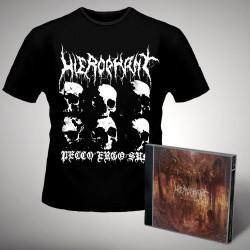 Hierophant - Mass Grave - CD + T-shirt bundle (Homme)