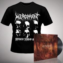 Hierophant - Mass Grave - LP gatefold + T-shirt bundle (Homme)