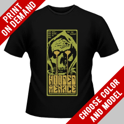Hooded Menace - Don't Let Them Hear Your Heartbeat - Print on demand