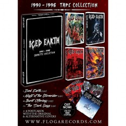 Iced Earth - 1990 - 1996 Cassette Collection - 4 TAPES BOXSET
