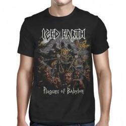 Iced Earth - Plagues - T-shirt (Homme)