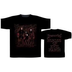 Immortal - Damned In Black - T-shirt (Men)