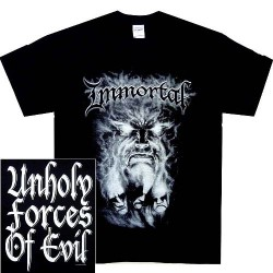 Immortal - Unholy Forces Of Evil - T-shirt (Men)