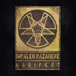 Impaled Nazarene - Manifest - LP Gatefold Coloured