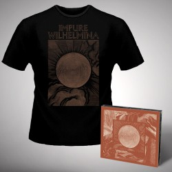 Impure Wilhelmina - Radiation - CD DIGIPAK + T-shirt bundle (Homme)