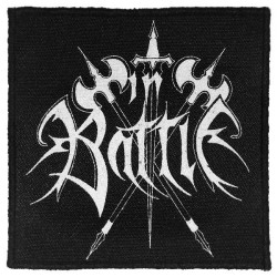 In Battle - Logo - Patch