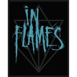 In Flames - Scratched Logo - Patch