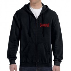 Incantation - Triple Swords - Hooded Sweat Shirt Zip (Homme)