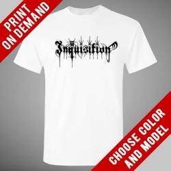Inquisition - Logo 2016 [white] - Print on demand